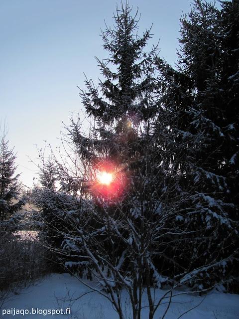 talvi: aurinko
