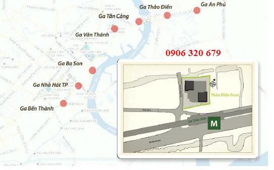 tuyến tàu điện ngầm Thảo Điền Pearl