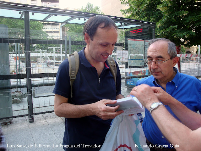 Una visita a la 28ª Feria del Libro de Zaragoza