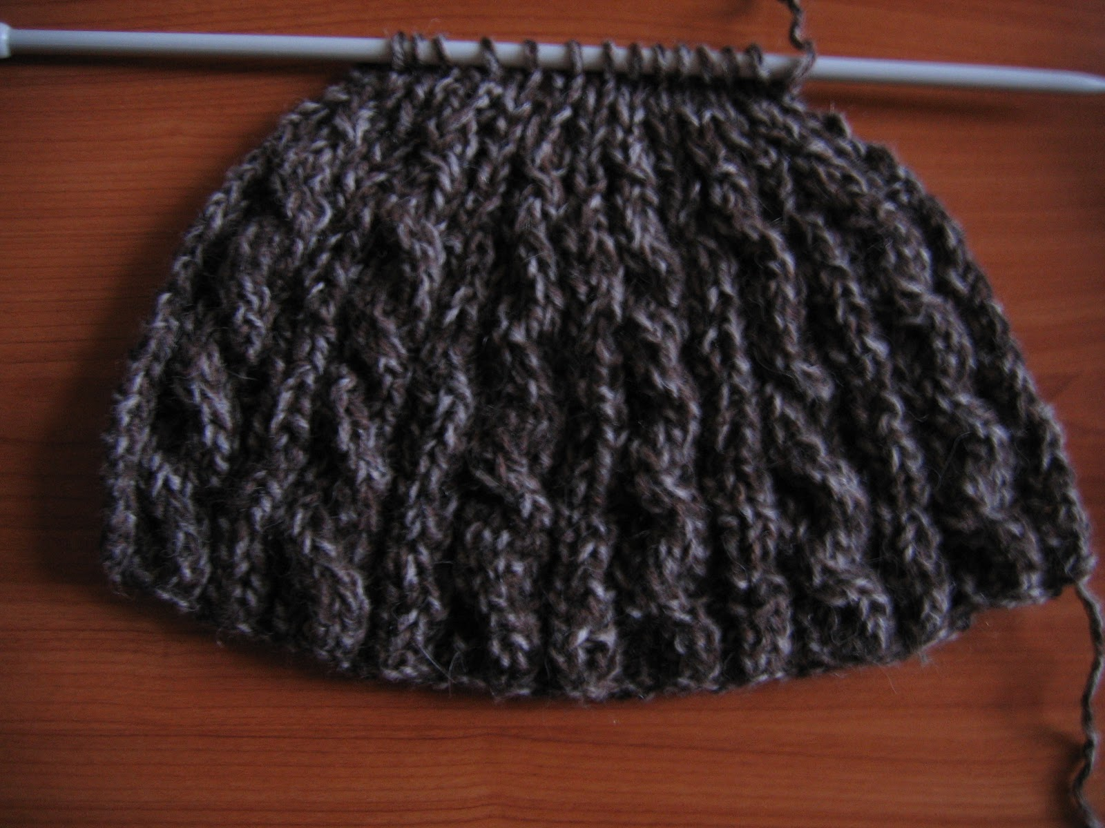 Cours de tricot 13  tricoter un bonnet  YouTube