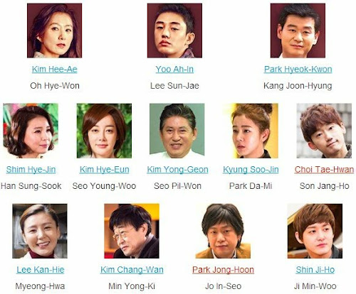 Kim Hee-Ae Yoo Ah-In Park Hyeok-Kwon Shim Hye-Jin Kim Hye-Eun Kim Yong-Geon Kyung Soo-Jin Choi Tae-Hwan Lee Kan-Hie Kim Chang-Wan Park Jong-Hoon Shin Ji-Ho