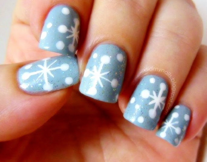 cute winter nails, cute winter nail designs, winter nail, winter nails 2015, - Acrylic Nail Designs