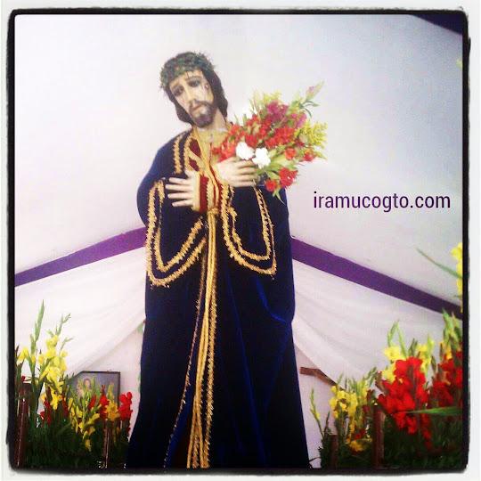 El Señor de las Tres Caídas hacia Andocutin 2013