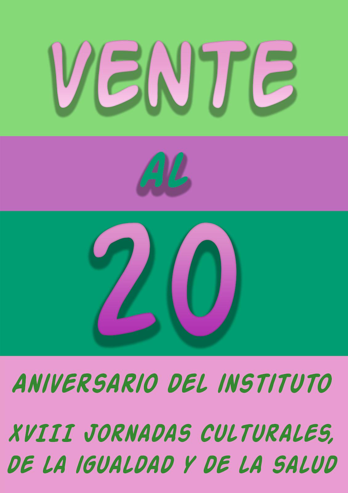XX Aniversario del IES Laguna de Tollón