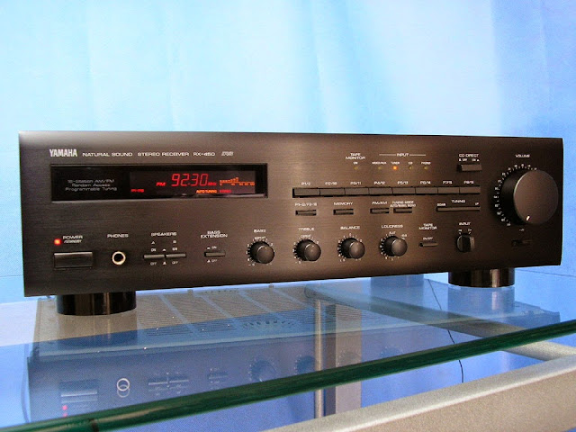 Yamaha rx 450 stereo receiver audiobaza for Yamaha stereo reciever