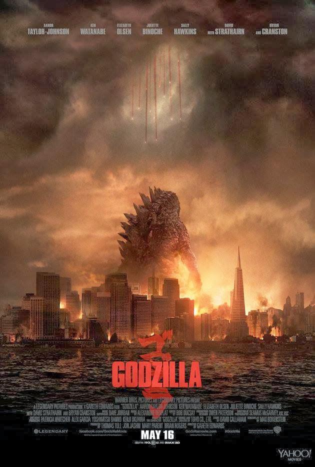 Cine: nuevo póster de Godzilla (ゴジラ), de Gareth Edwards.