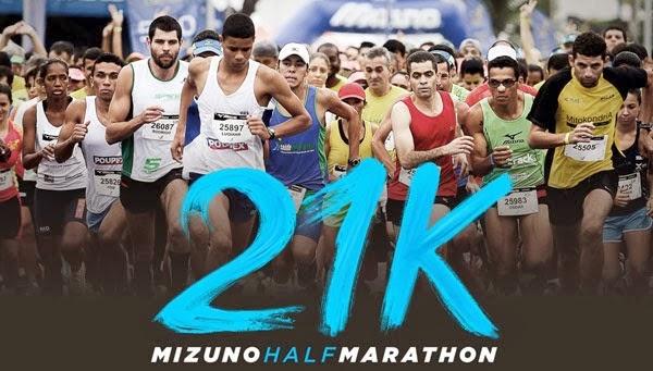 MIZUNO HALF MARATHON 13.1 - Meia Maratona Mizuno - Corrida De Rua