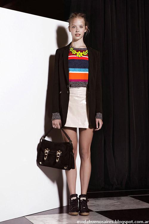 Jazmin Chebar otoño invierno 2014 moda Argentina. Moda otoño invierno 2014.