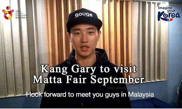 Kang Gary Running Man Matta Fair September 2015