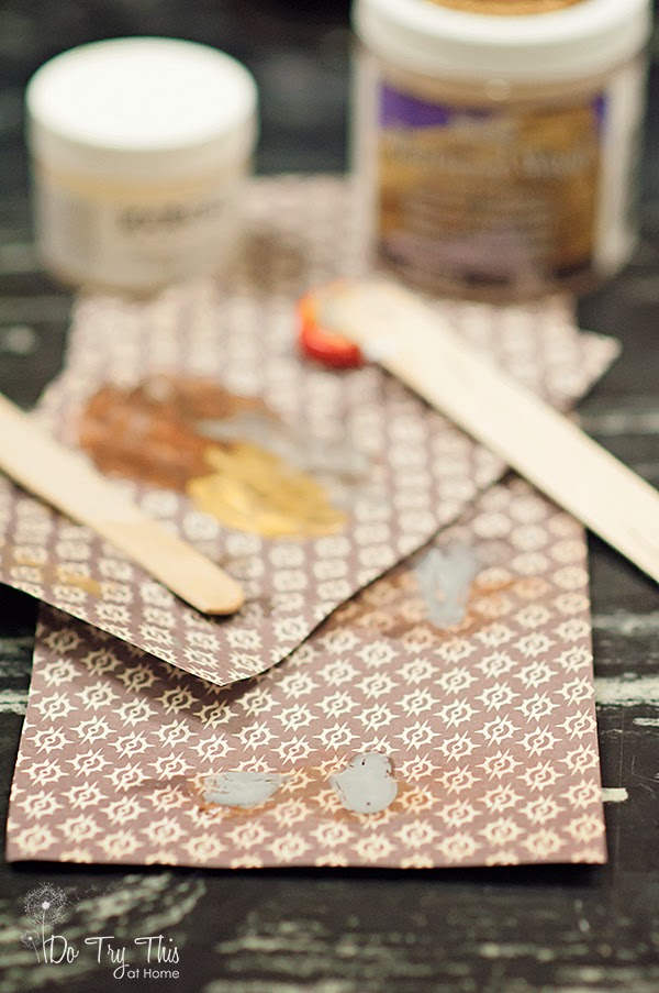 Crackle Paint on Altered Cigar Box: Do Try This at Home
