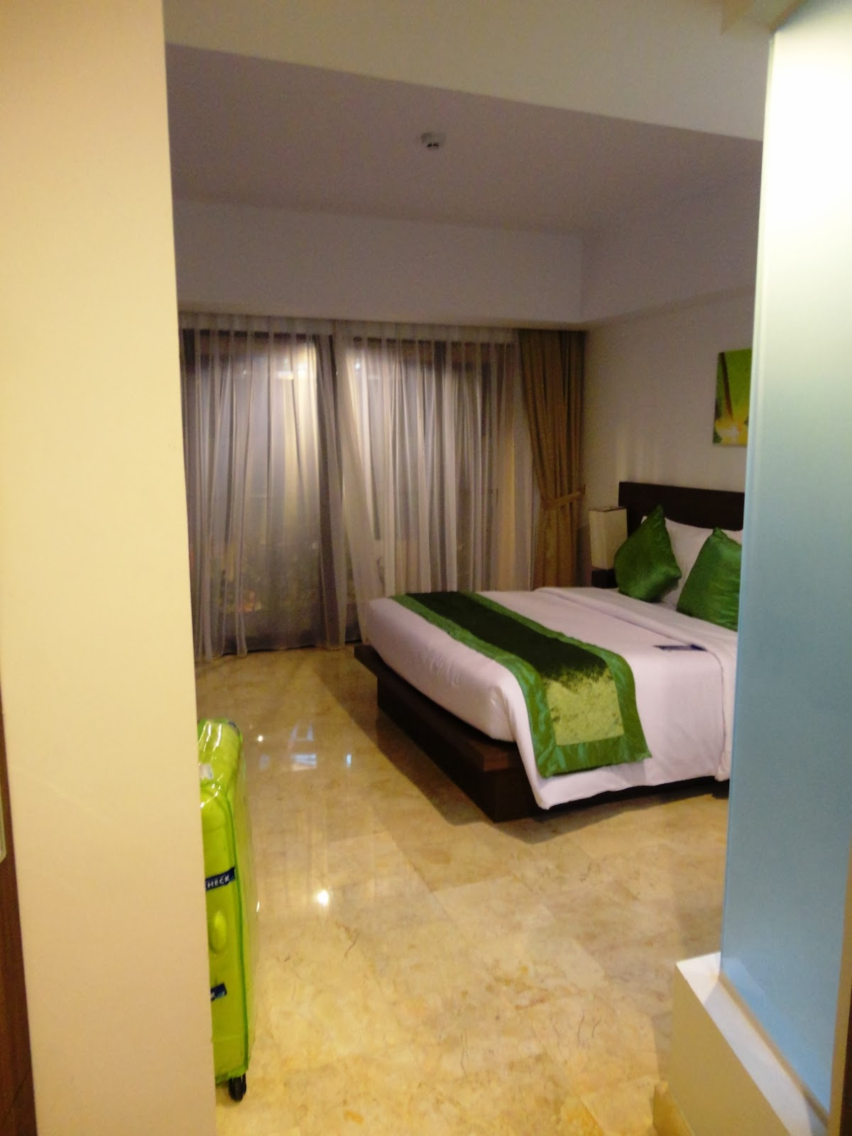 Bali Getaway Culinary Park Regis Hotel Review Pink And Undecided Voucher Kuta Room Was Basic But Spacious Clean