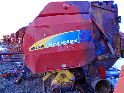 New Holland BR7090 baler parts