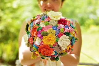 真是千奇百趣你喜歡這個結婚花球嗎?