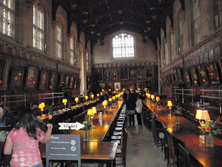 Inspiration room for the Great Hall at Hogwarts