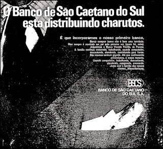 São Caetano do Sul , Propaganda anos 70; História dos anos 70; Brazil in the 70s. Oswaldo Hernandez.