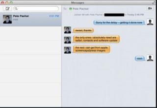 Fitur Baru OS X Mountain Lion