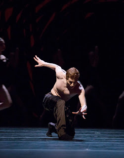 "Andrew Bartee in Crystal Pite's ""Emergence"" at PNB"