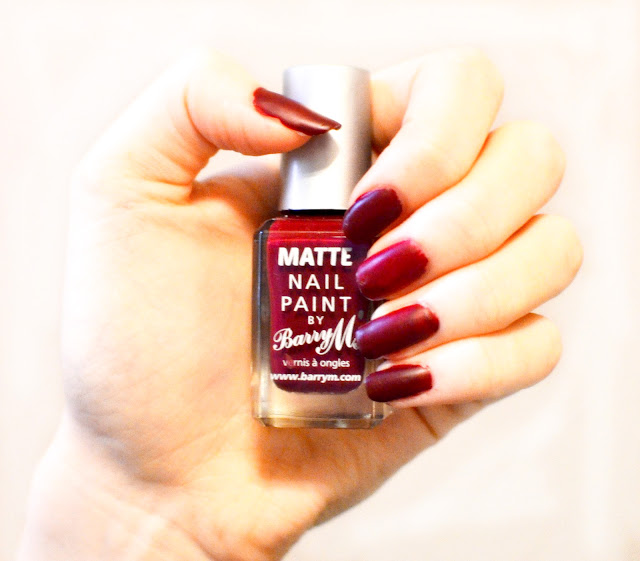 Barry M nail polish shade Crush