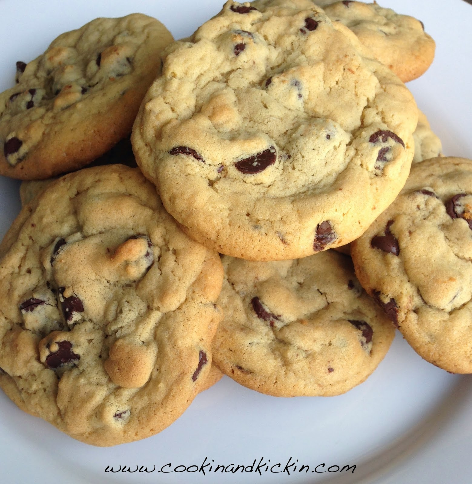 Pudding Mix Chocolate Chip Cookies | Cookin' And Kickin'