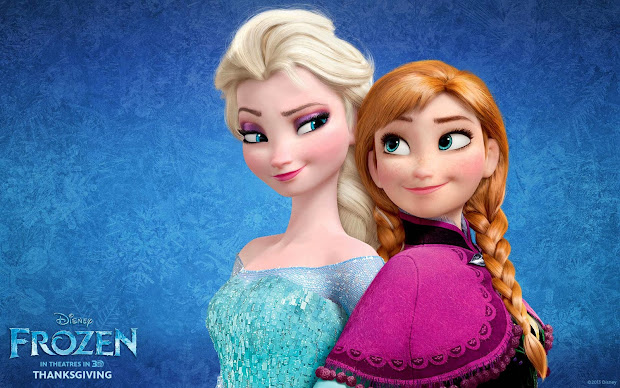 Elsa Frozen Bad Romance - Year of Clean Water