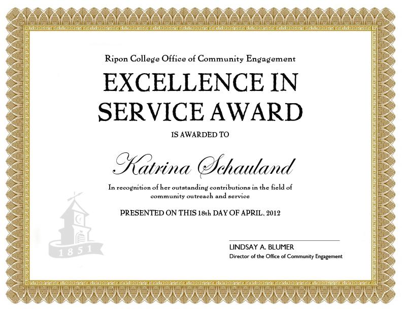 service award template - Etame.mibawa.co