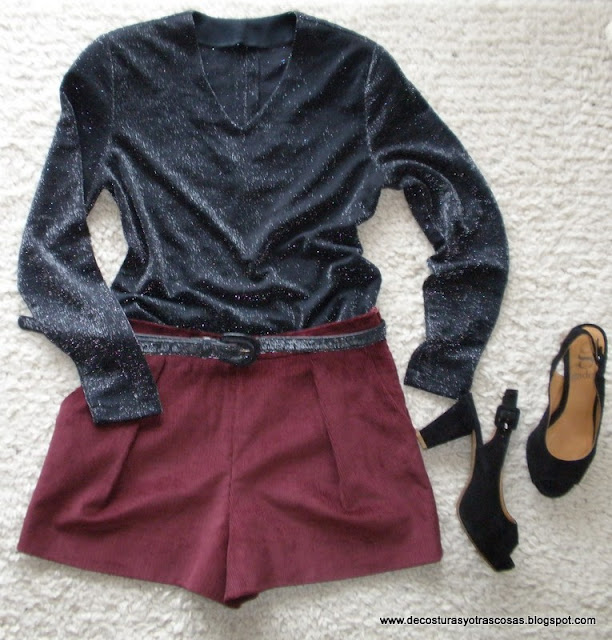 look-short-camiseta