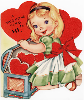 valentine card for girl