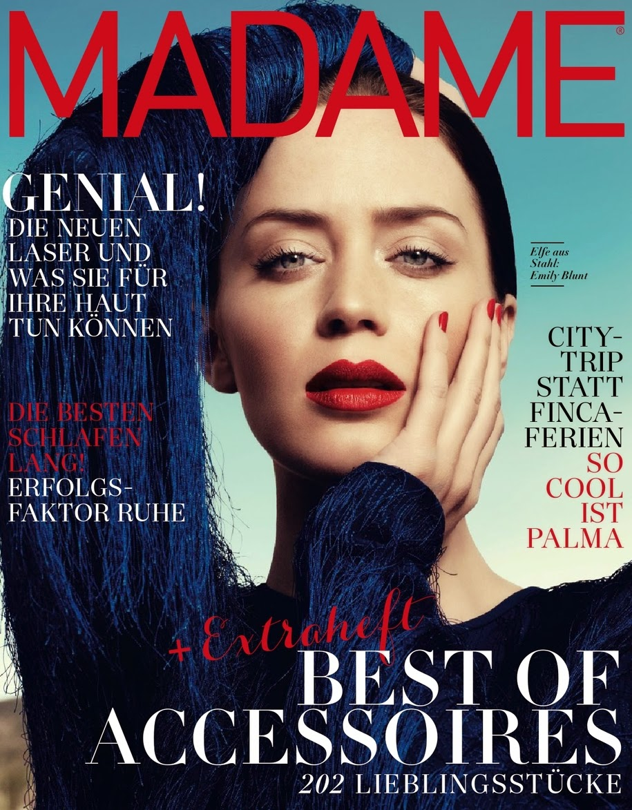 Actress: Emily Blunt - Madame Germany