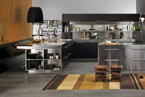 Espectaculares fotos de una cocina integral moderna - Cocinas espectaculares modernas ...