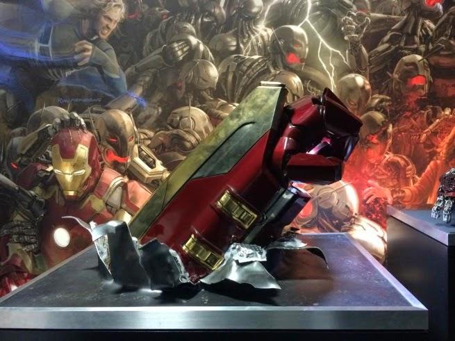 Concept Art Hulkbuster as Seen in Concept Art Already