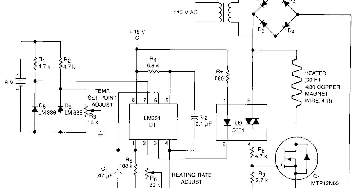 Various Diagram  Simple Proportional Temperature