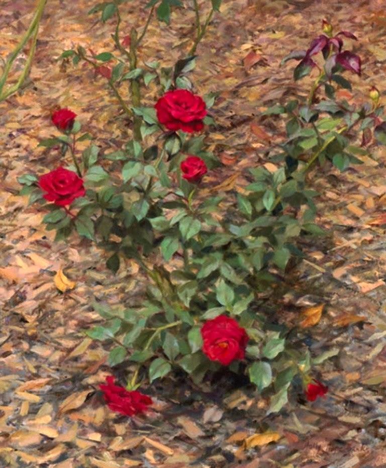jardines-con-flores-al-oleo