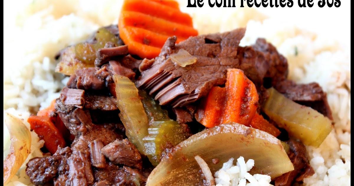 Le coin recettes de jos steak suisse mijoteuse - Consomme de boeuf maison ...