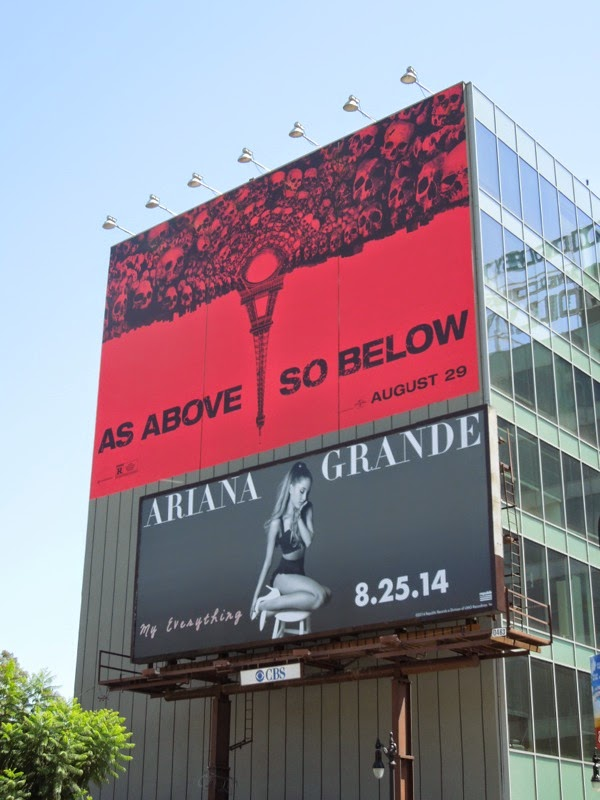 Giant As Above So Below film billboard