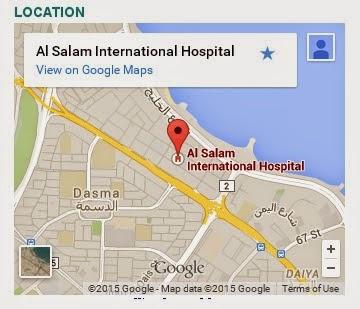 Al Salam International Hospital P.O.Box 11023 Dasma 35151, Kuwait