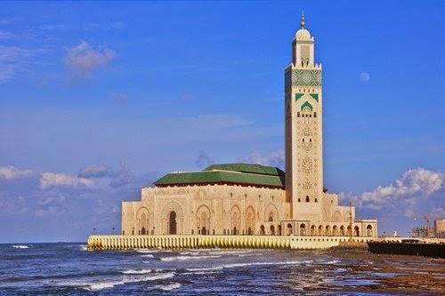 Masjid Hassan II  – Maroko