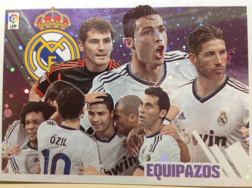 Liga ESTE 2013-14 Real Madid - Equipazo
