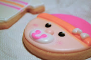 Girl Baby Shower Cookies. Posted by Donna Kendall (girl baby shower )