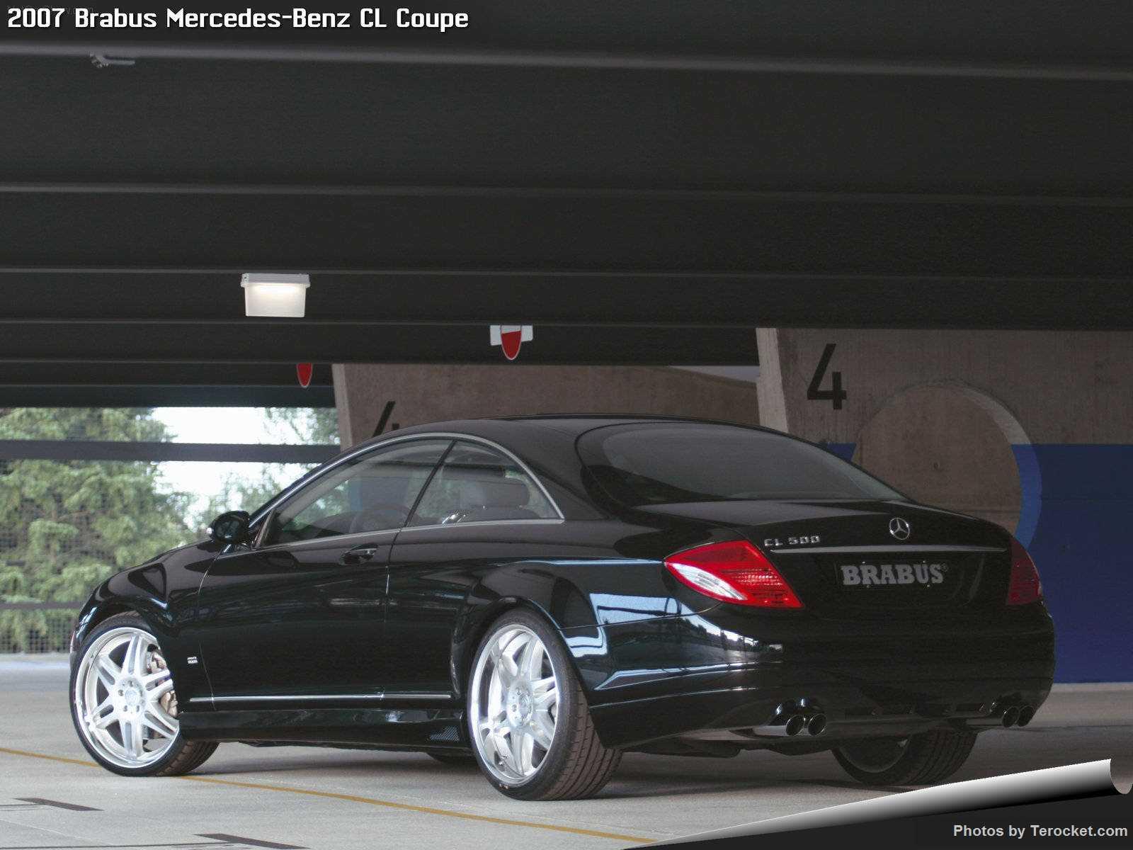 Hình ảnh xe ô tô Brabus Mercedes-Benz CL Coupe 2007 & nội ngoại thất