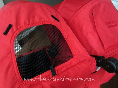 B-AGILE Double canopy ventilation