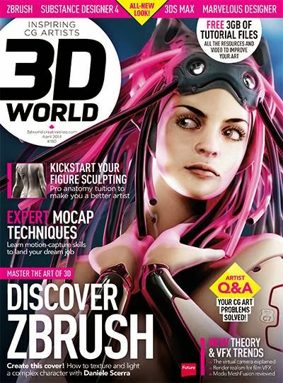 3D World Magazine April 2014