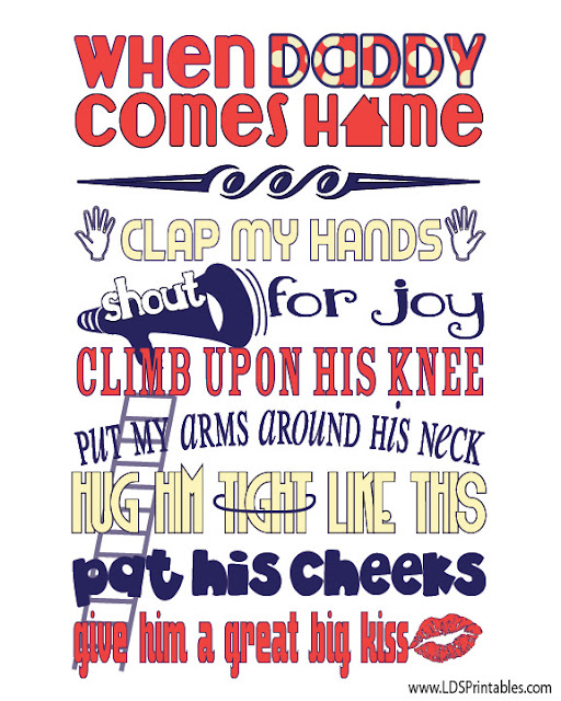 LDS Printables: More Father's Day Printables