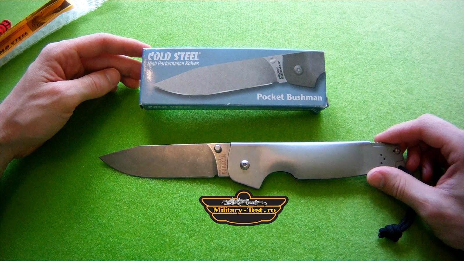 Pocket Bushman - briceag cutit