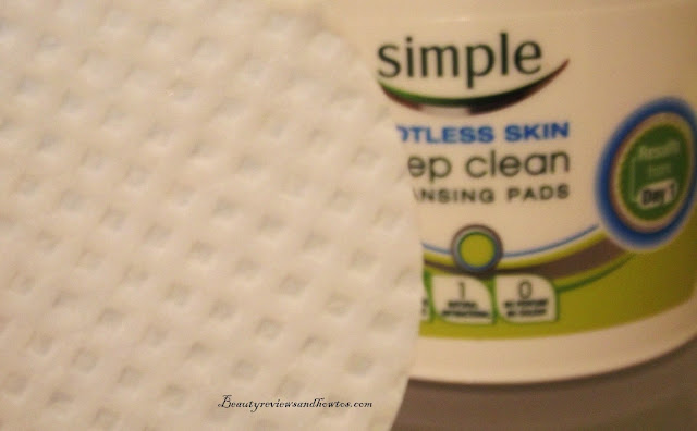 Simple Spotless Skin Deep Clean Cleansing Pads Review