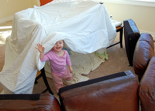 Forts In The Living Room