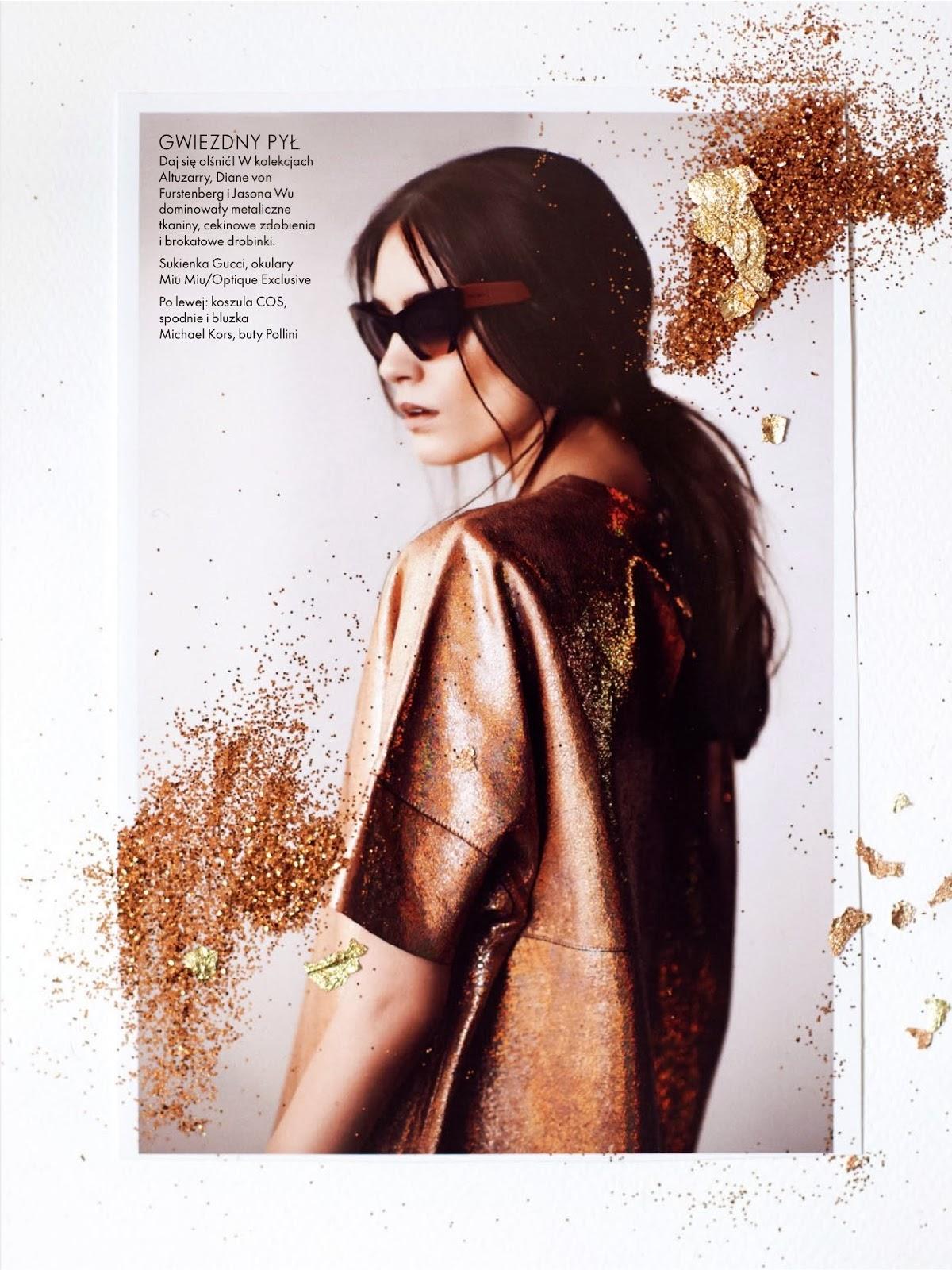 Patrycja Gardygajlo HQ Pictures Elle Poland Magazine Photoshoot March 2014 By Marcin Kempski