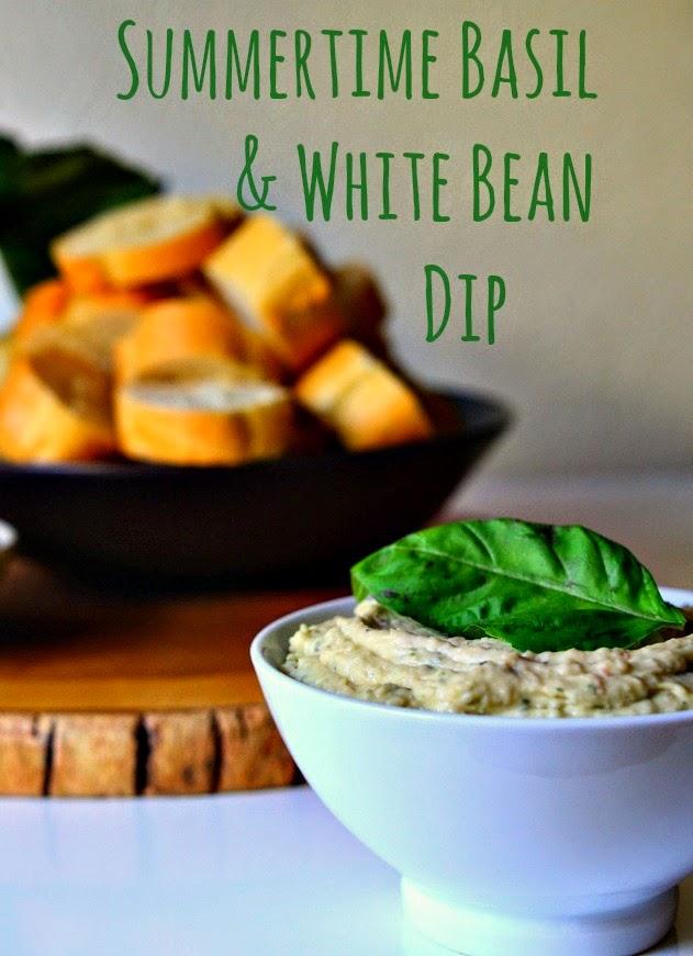 House Vegan: Summertime Basil and White Bean Dip