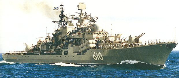 Sovremenny Russian Class Destroyers