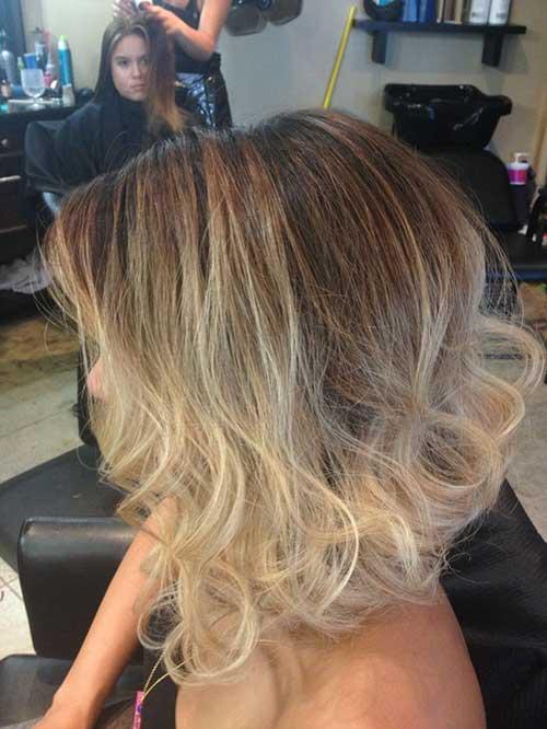 10 Cute Short Blonde Ombre Hair