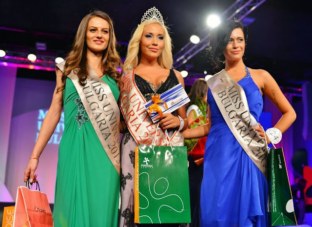 Miss Universe Bulgaria 2013 Veneta Kristeva